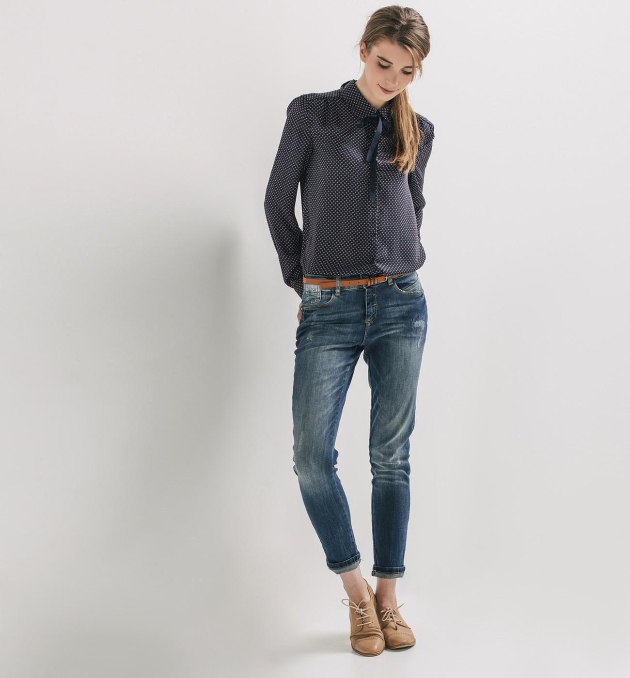 blazer jean toujours styl. Black Bedroom Furniture Sets. Home Design Ideas