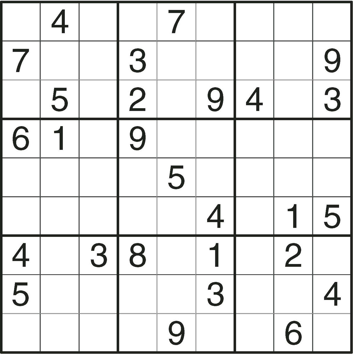 Sudoku en ligne je vous conseille un site de r f rence - Grilles de sudoku vierges ...